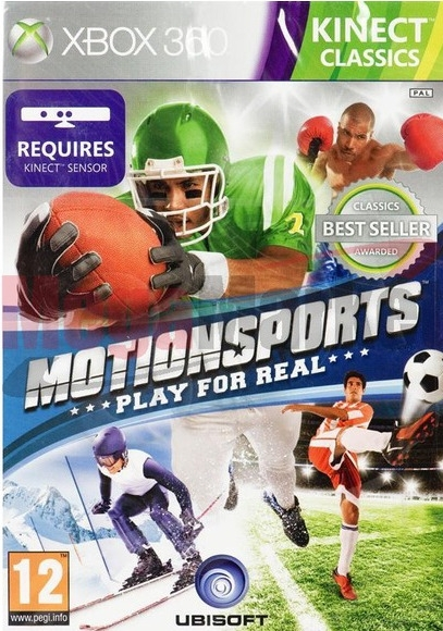 Motion Sports: Play for Real (Xbox 360)