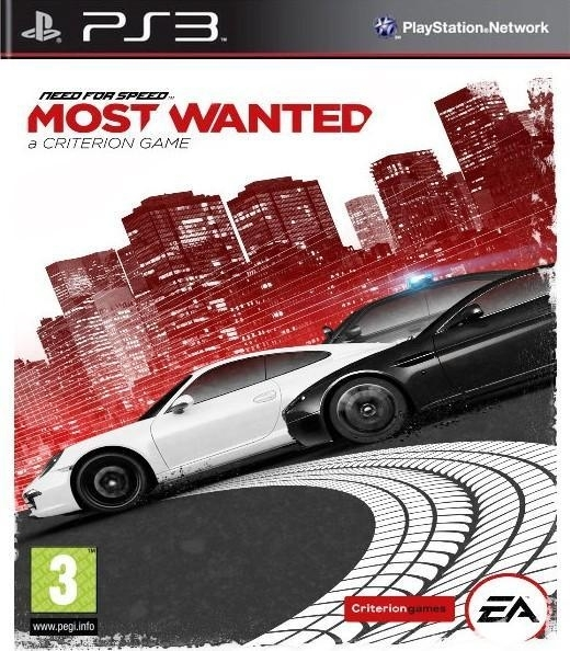 Need for Speed: Most Wanted Move (PS3)