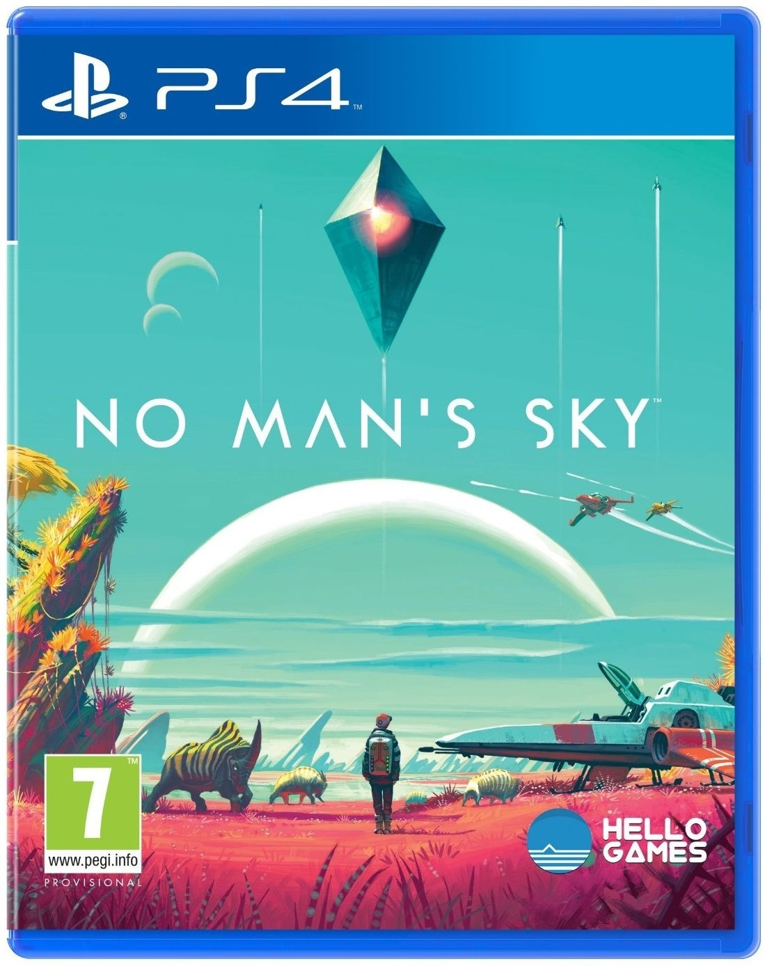 No Man's Sky / No Mans Sky PL (PS4)