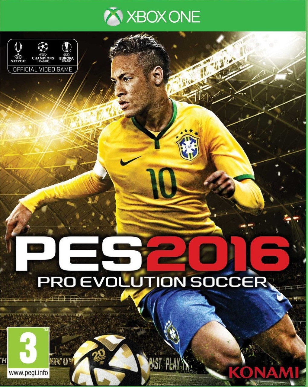 Pro Evolution Soccer 2016: Uefa Euro 2016 / PES 2016 (Xbox One)