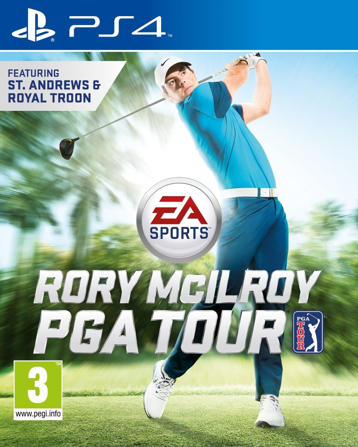 Rory Mcllroy PGA Tour (PS4)