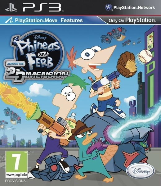 Phineas and Ferb Across the 2nd Dimension Move (PS3)