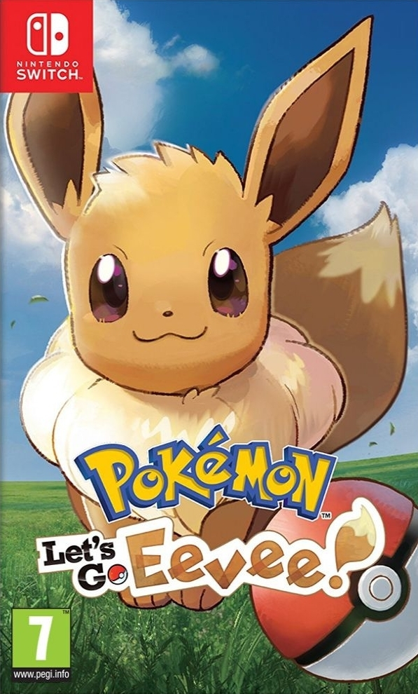 Pokemon Let's Go Eevee! Nintendo Switch