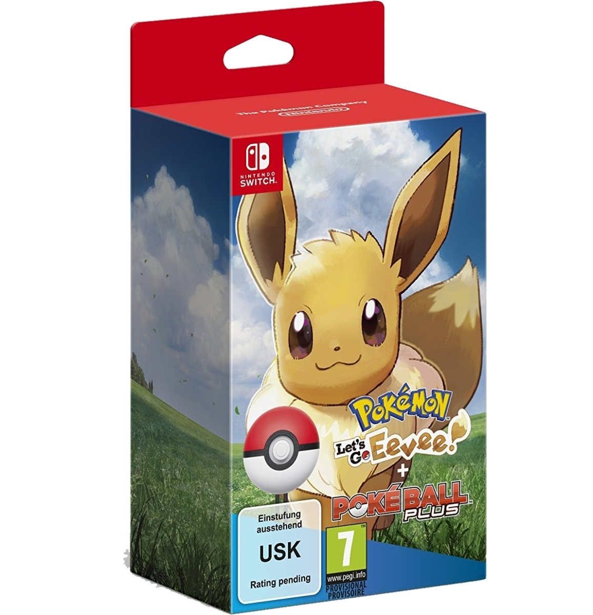 Pokemon Let's Go Eevee! + Poke Ball Plus