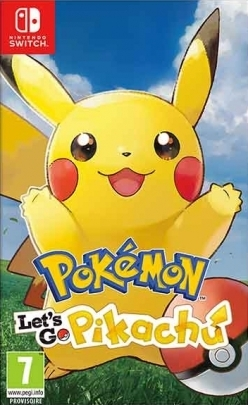 Pokemon Let's Go Pikachu! Nintendo Switch