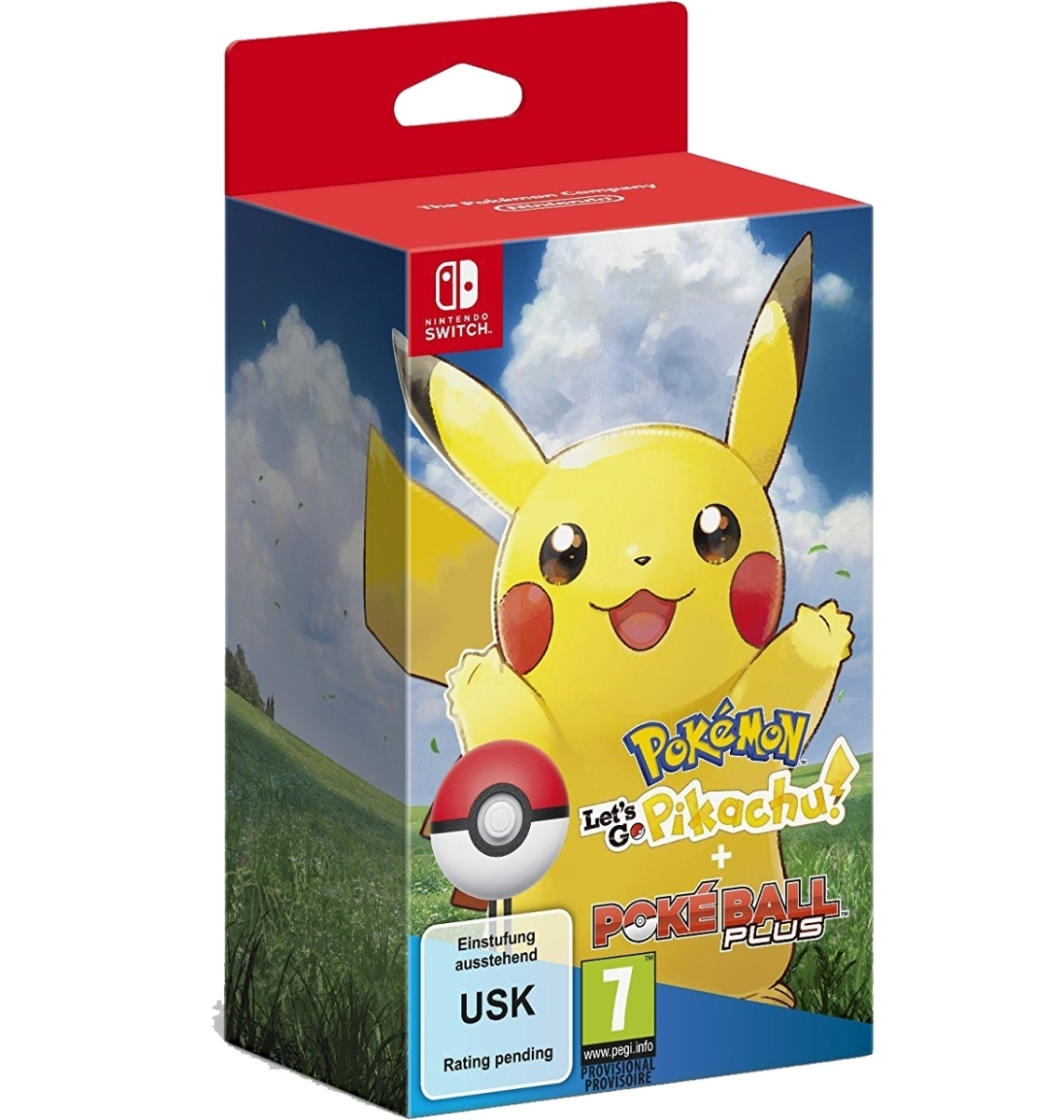 Pokemon Let's Go Pikachu! + Poke Ball Plus
