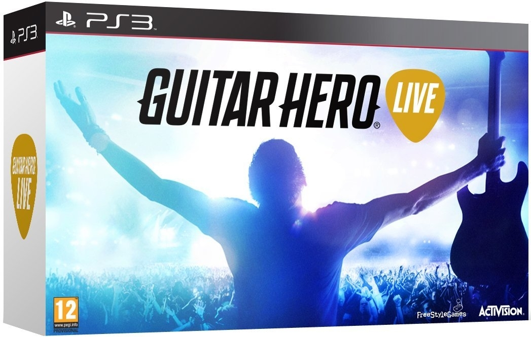 Guitar Hero Live z Giitarą (PS3)