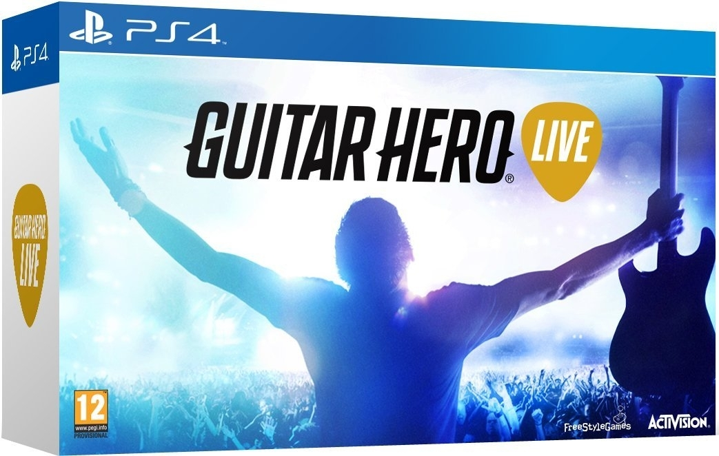 Guitar Hero Live z Giitarą (PS4)