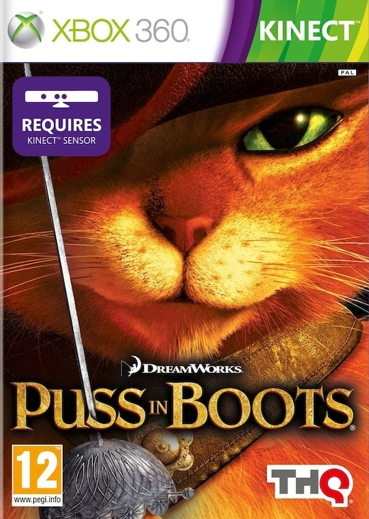Puss in Boots / Kot w Butach Kinect (Xbox 360)