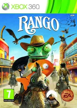 Rango The Video Game (Xbox 360)