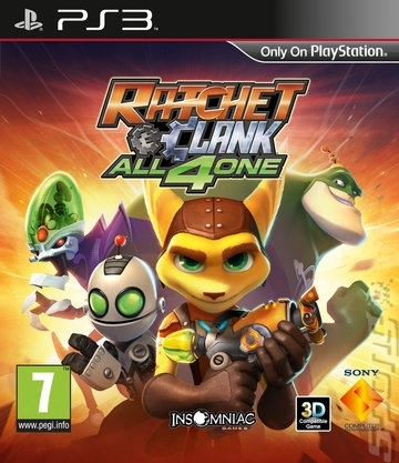 Ratchet & Clank All For One (PS3)