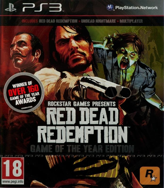 Red Dead Redemption: Game Of The Year Edition (PS3)