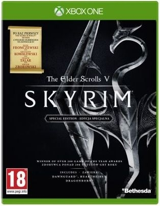 The Elder Scrolls V Skyrim Special Edition PL (Xbox One)