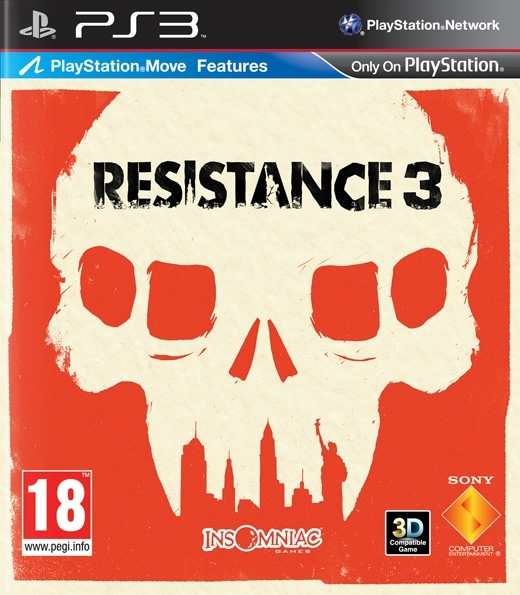 Resistance 3 PL/ANG Move (PS3)