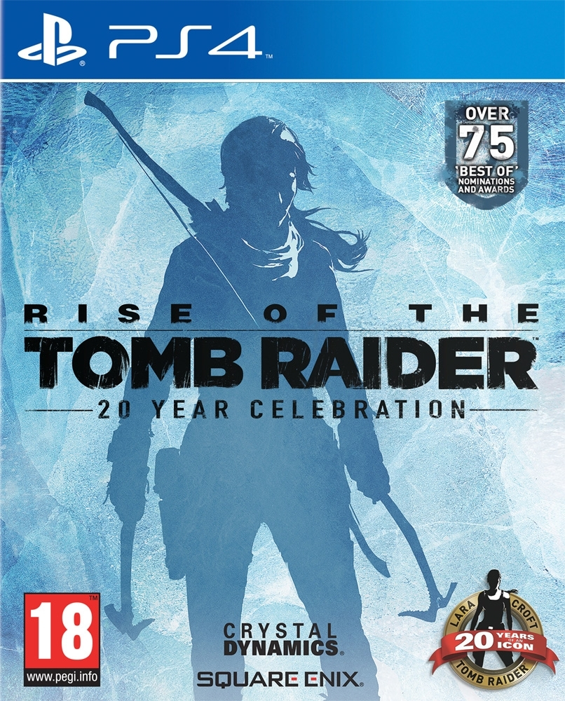 Rise Of The Tomb Raider 20 Year Celebration Artbook PL (PS4)