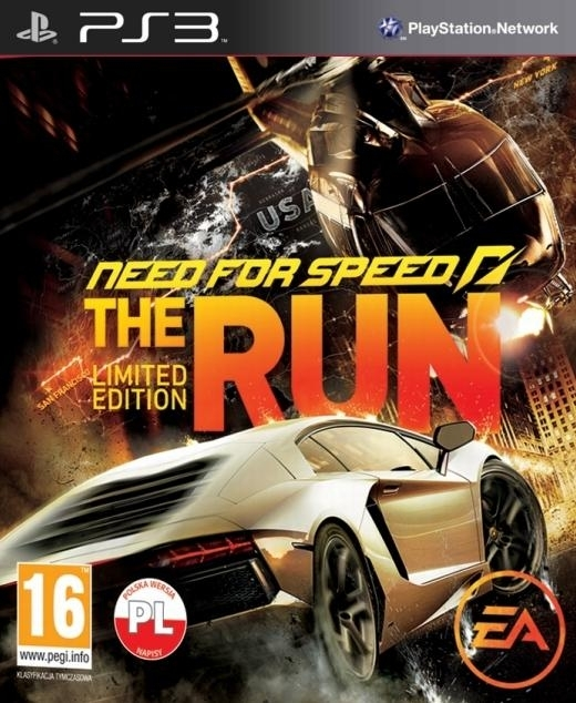 Need For Speed The Run Limited Edition PL (PS3)