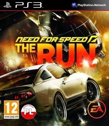Need For Speed The Run PL (PS3)