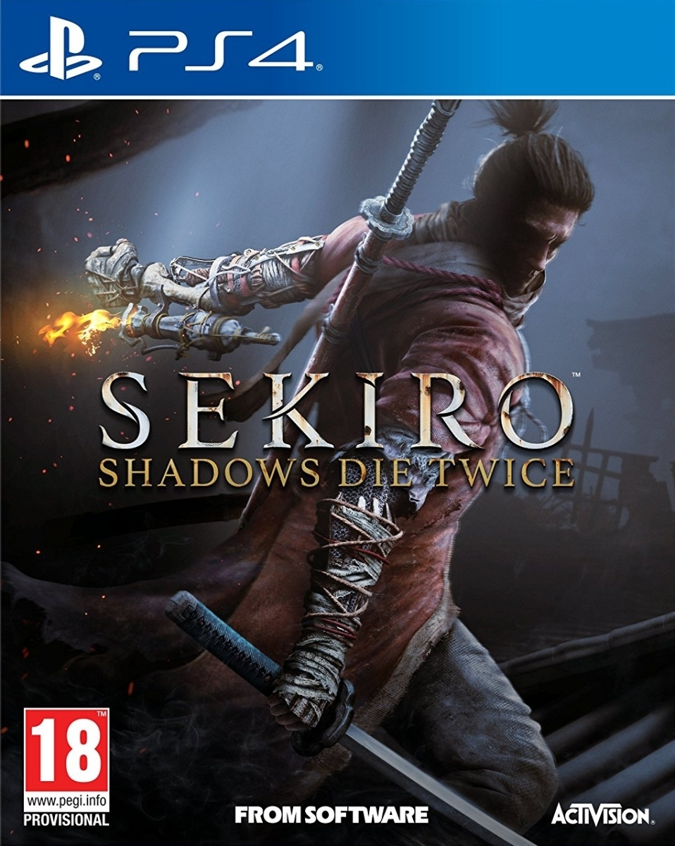 Sekiro Shadows Die Twice PL (PS4)