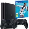 Konsola Playstation 4 Slim 500GB 2 pady + Fifa 19 (PS4)
