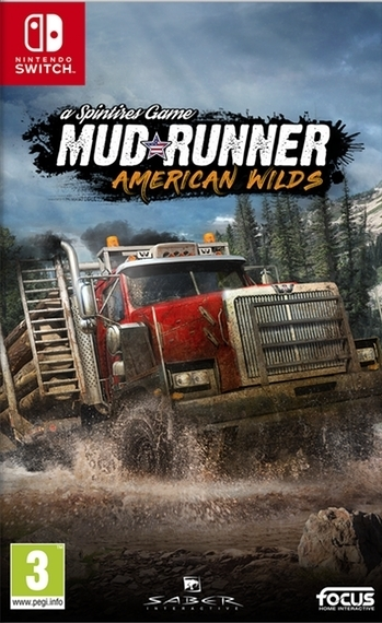 Spintires MudRunner American Wilds Edition (Switch)