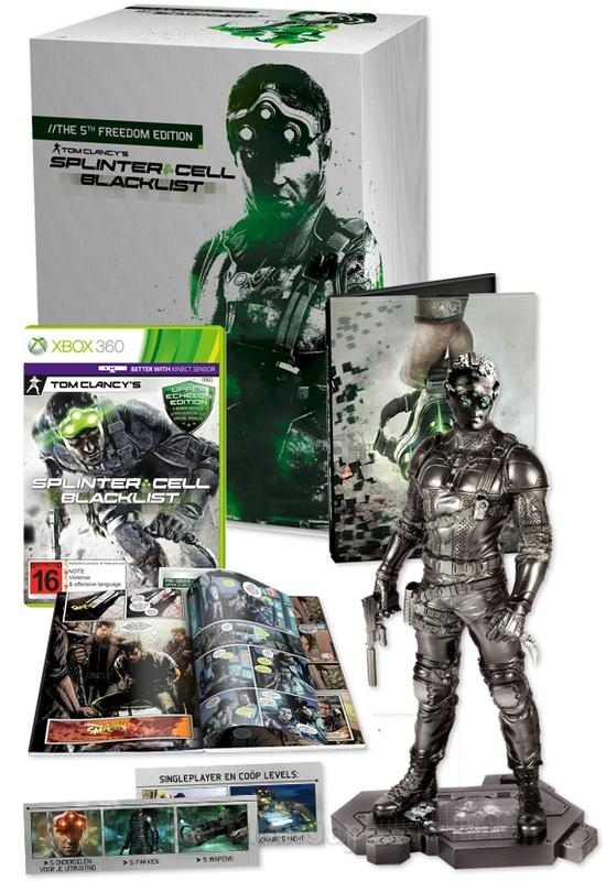 Splinter Cell Black List 5th Freedom Edition (Xbox 360)