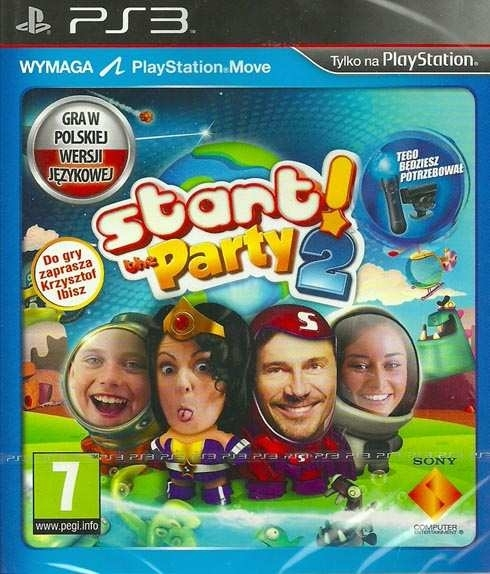 Start The Party 2 Move (PS3)