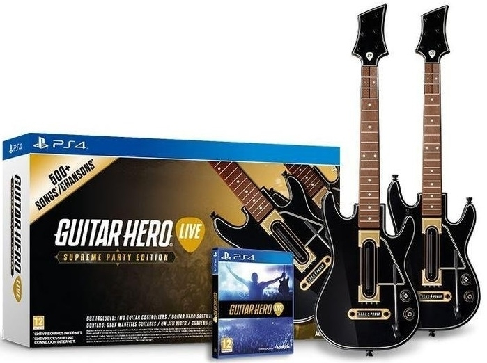 Guitar Hero Live Supreme Party Edition - 2 Gitary (PS4)