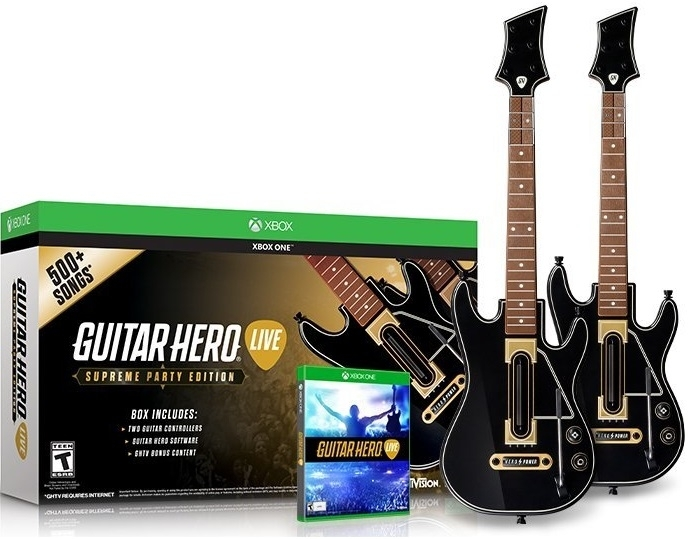Guitar Hero Live Supreme Party Edition -  2 Gitary (Xbox One)