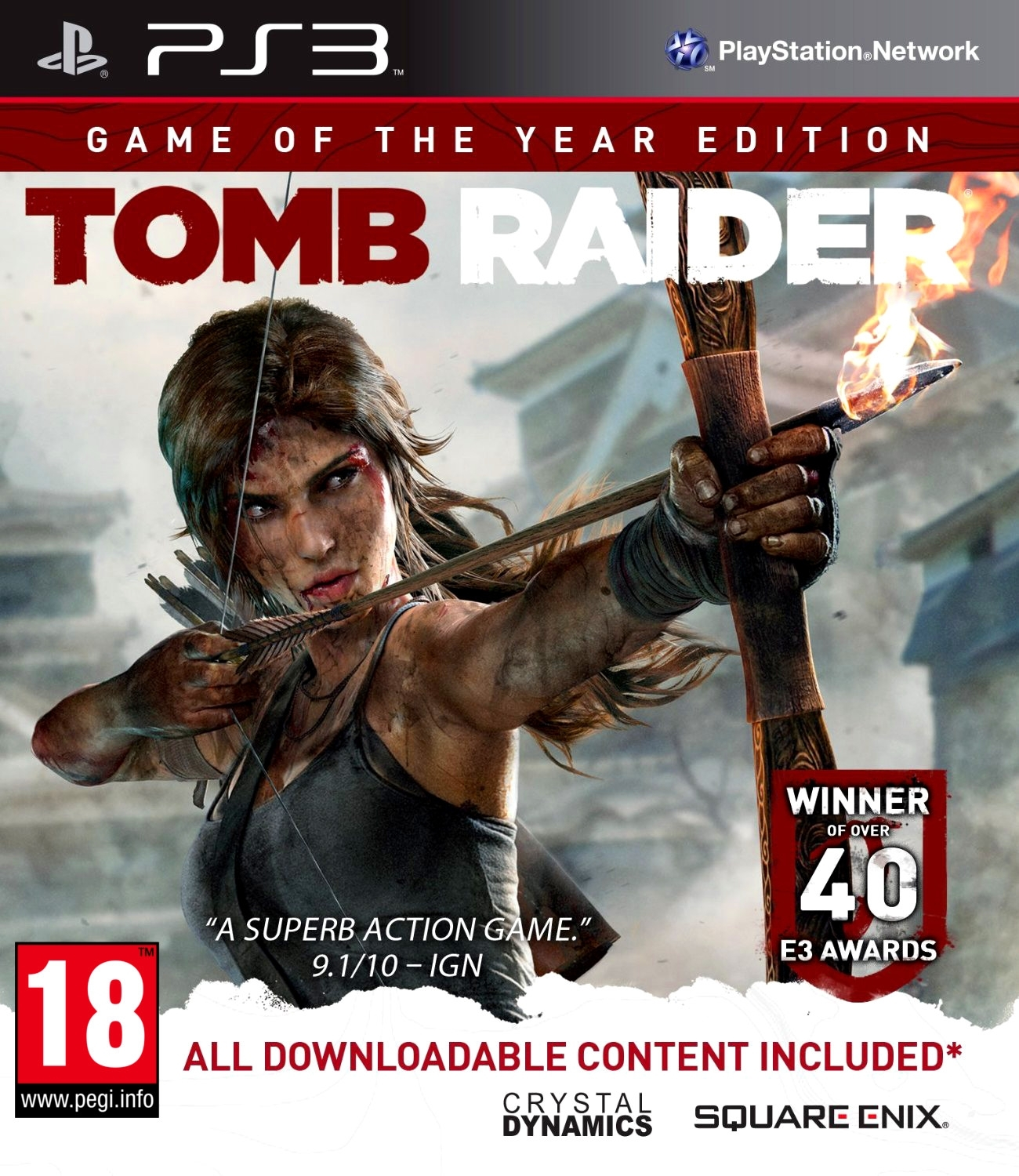 Tomb Raider GOTY Game Of The Year Edition (PS3)