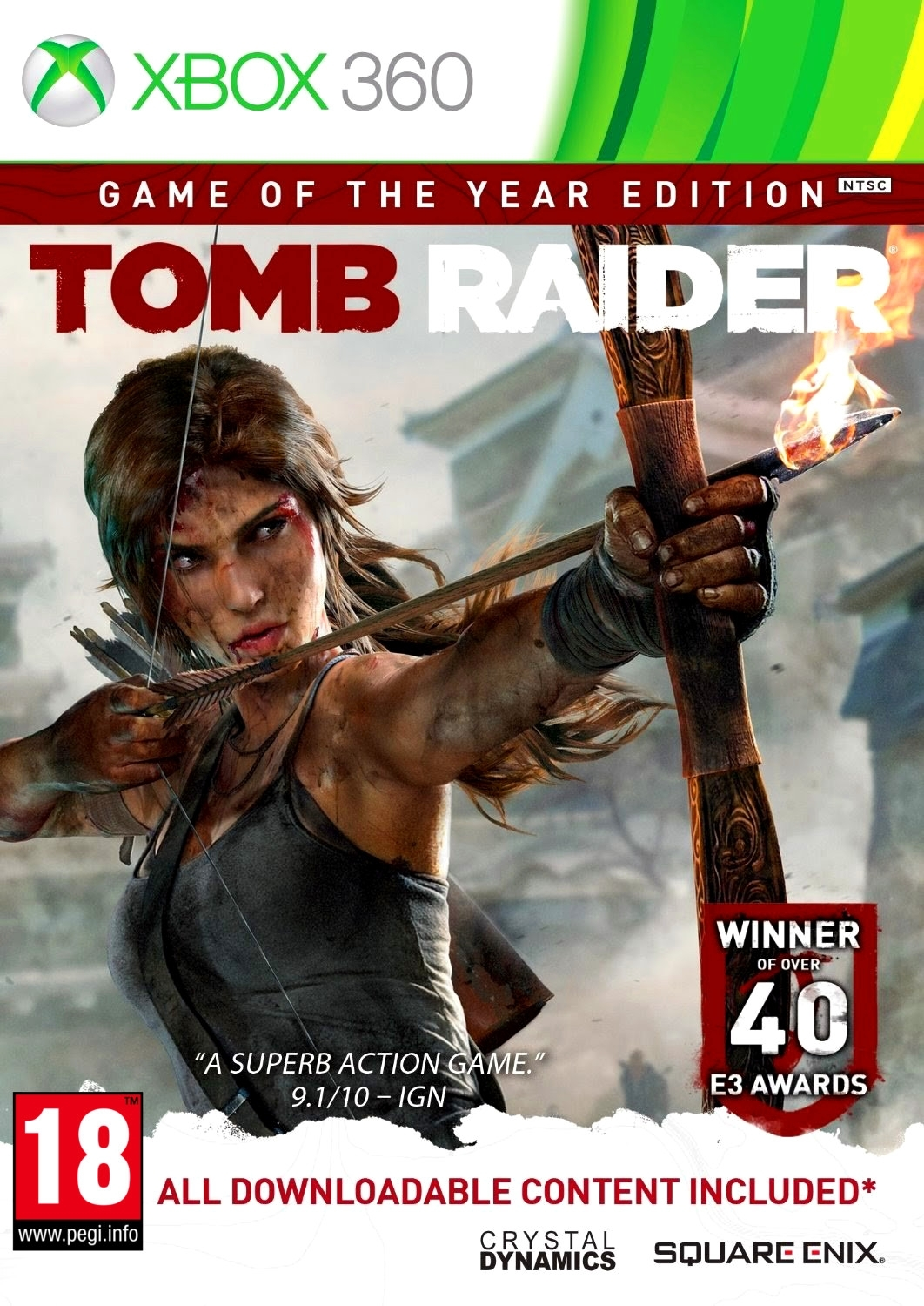 Tomb Raider GOTY Game Of The Year Edition (Xbox 360)