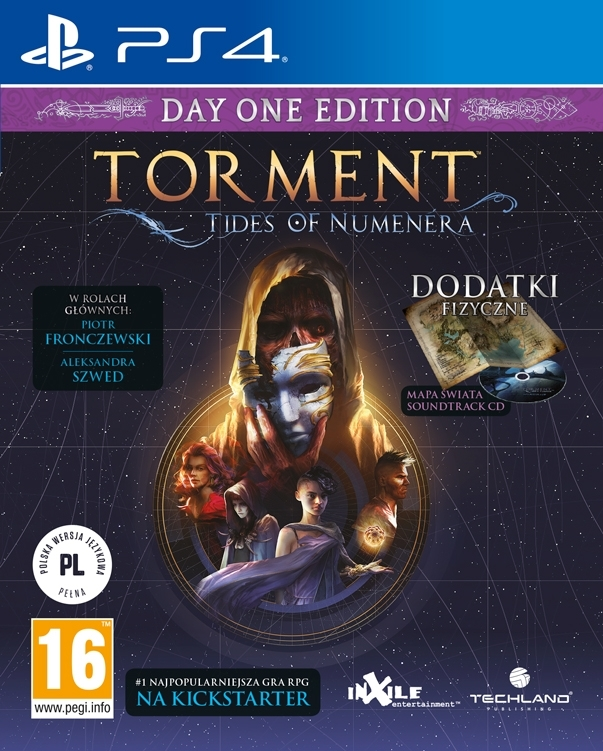 Torment Tides of Numenera PL (PS4)