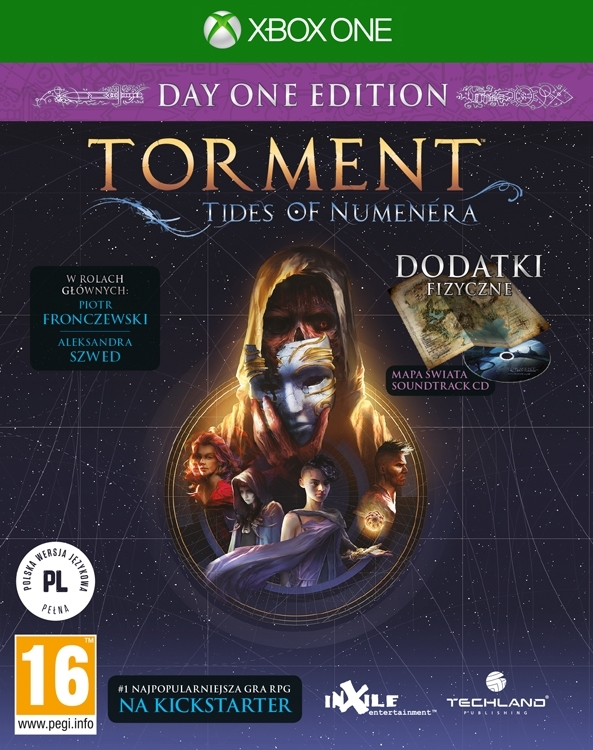 Torment Tides of Numenera PL (Xbox One)
