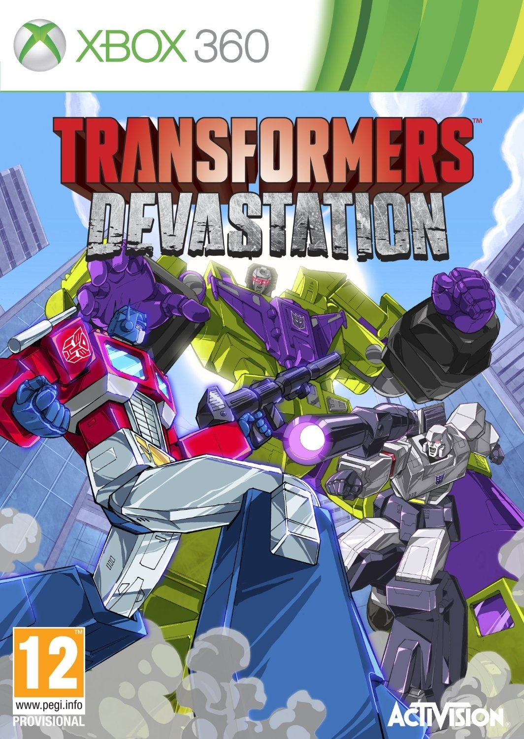 Transformers: Devastation (Xbox 360)