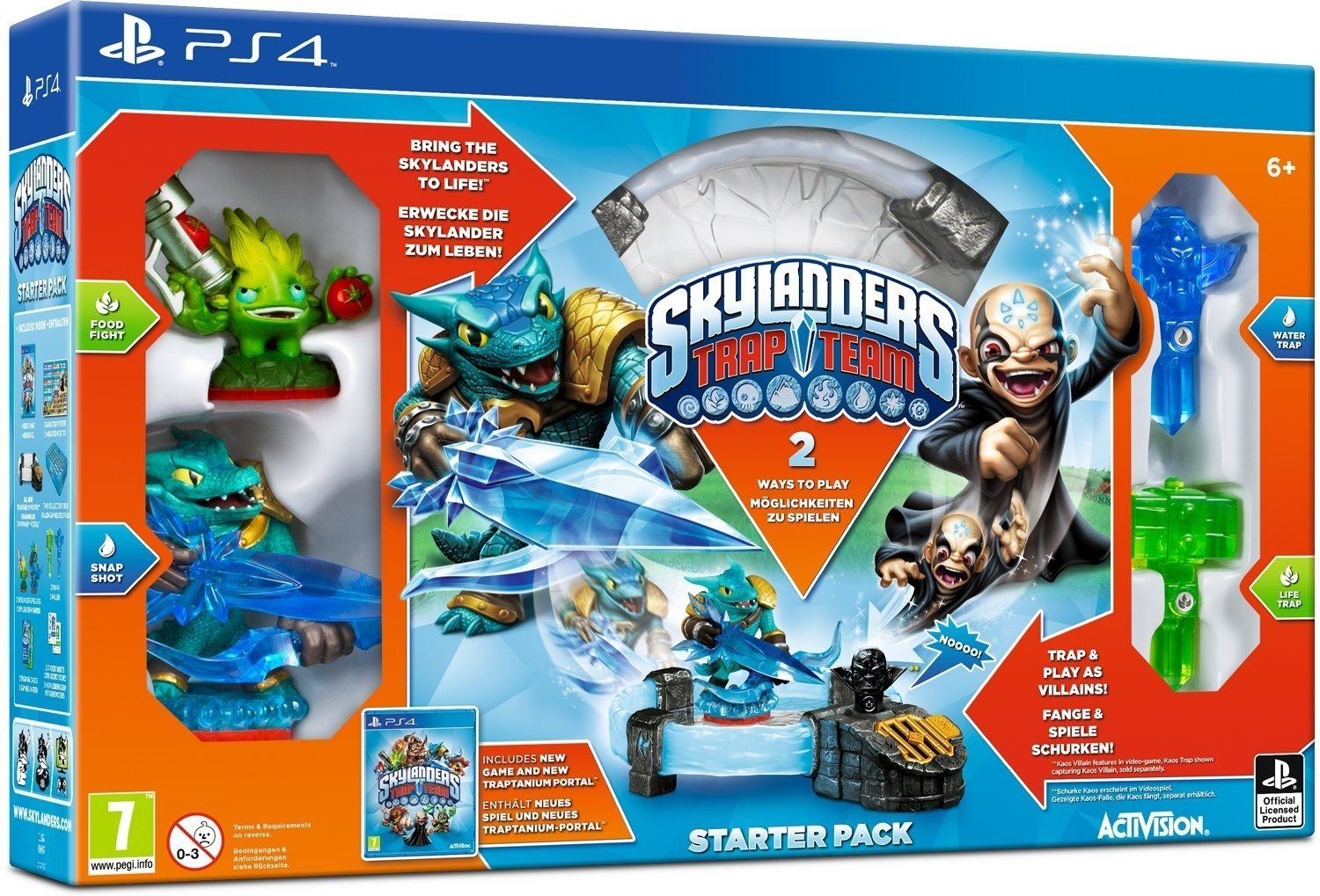 Skylanders Trap Team Starter (PS4)