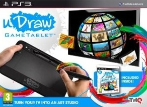 uDraw Tablet Graficzny z Grą Instant Artist (PS3)