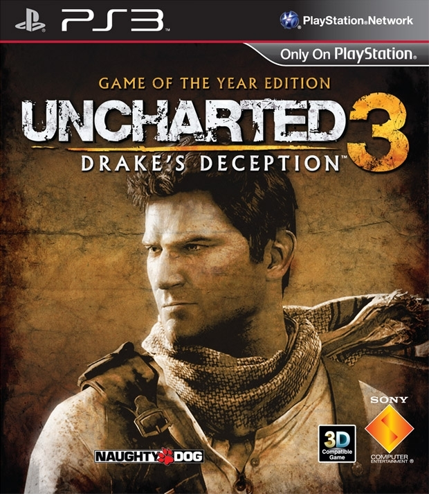 Uncharted 3 Oszustwo Drake'a Game of The Year Edition PL (PS3)