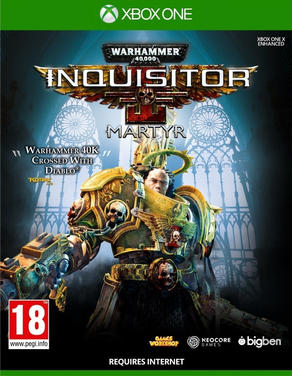 Warhammer 40000 Inquisitor Martyr (Xbox One)