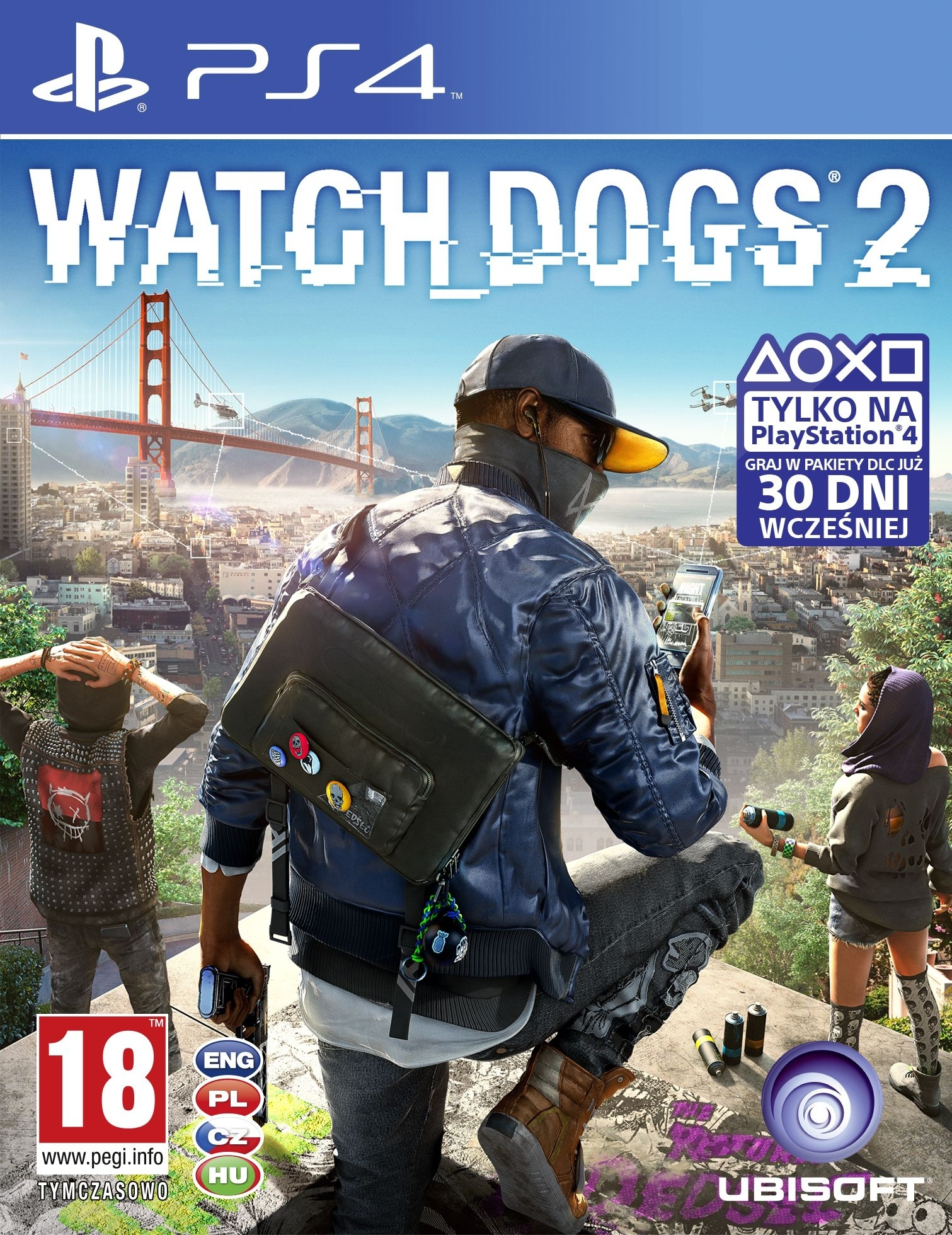 Watch Dogs 2 PL (PS4)