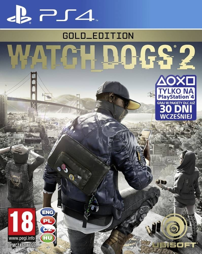 Watch Dogs 2 Gold Edition PL (PS4)