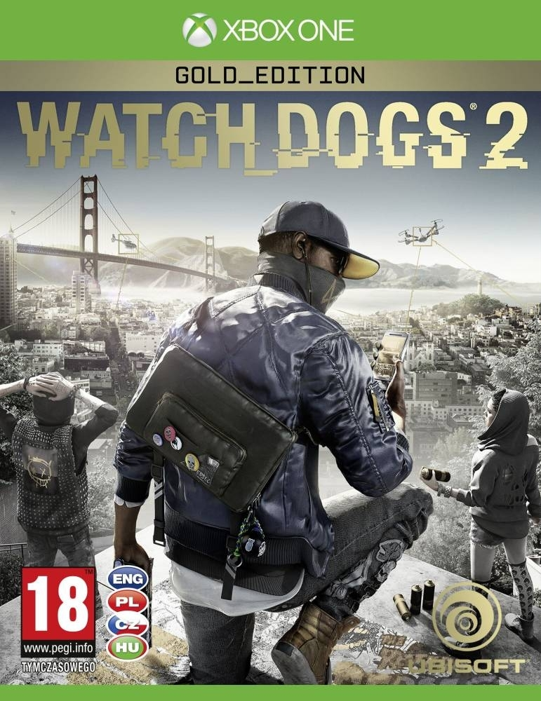 Watch Dogs 2 Gold Edition PL (Xbox One)