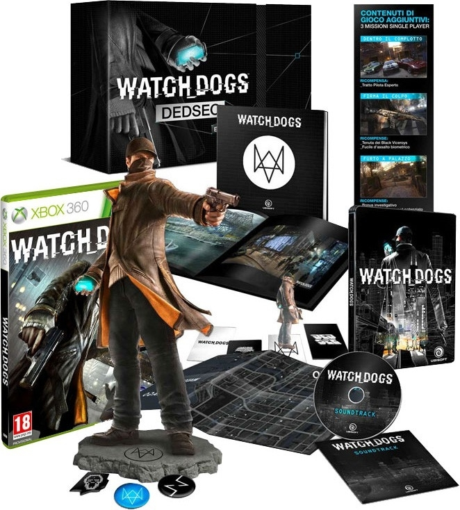 WatchDogs / Watch Dogs Dedsec Edition PL  (Xbox 360))