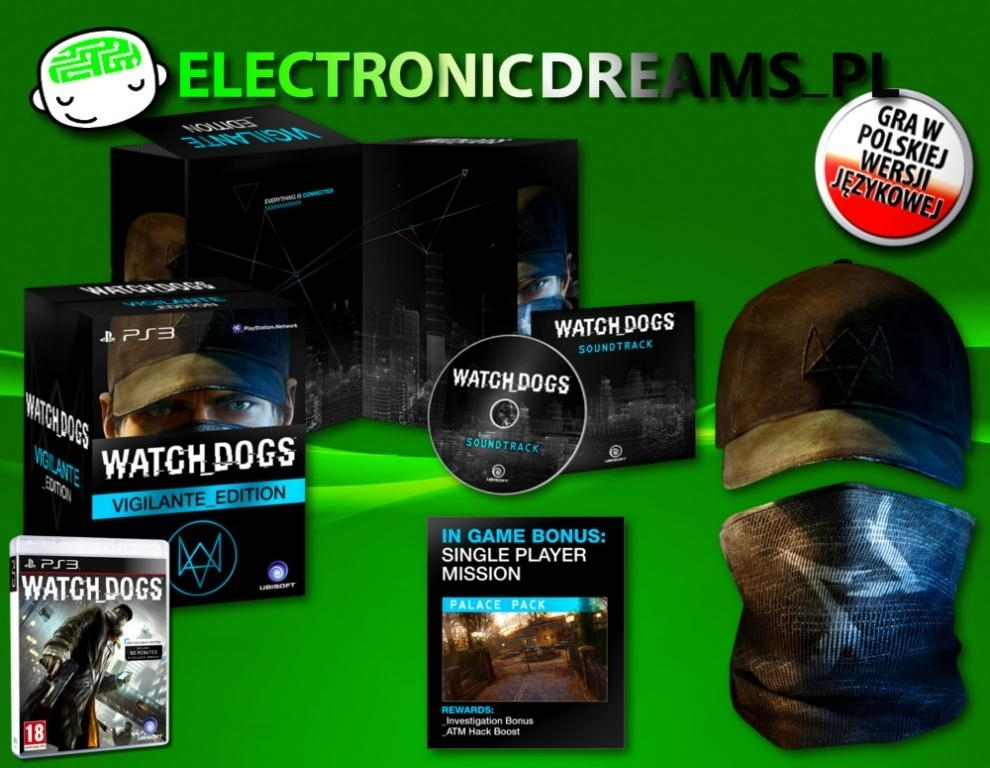 Watch Dogs Vigilante Edition PL (PS3)