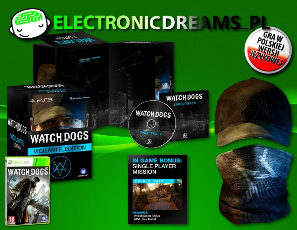 Watch Dogs Vigilante Edition PL (Xbox 360)