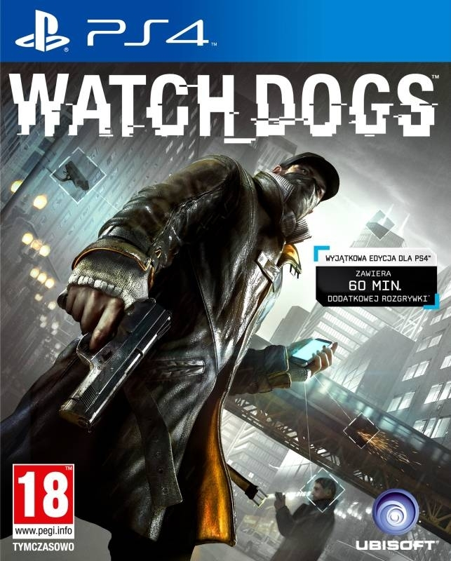 WatchDogs / Watch Dogs PL (PS4)