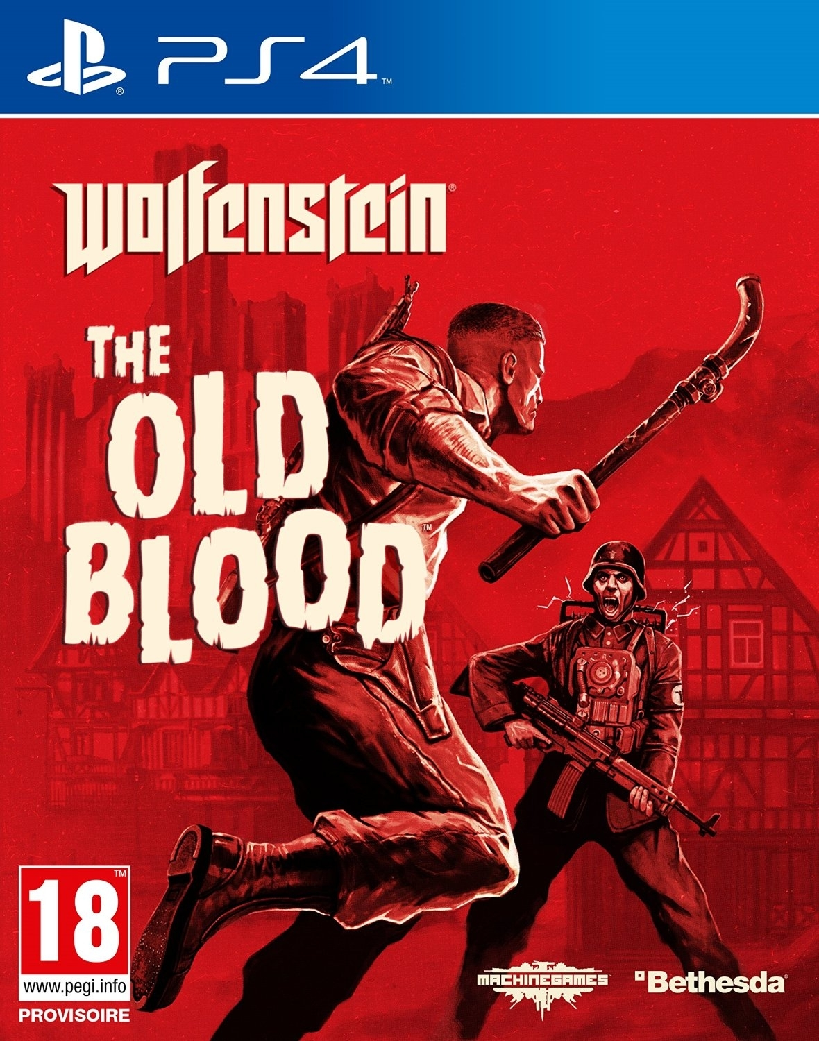 Wolfenstein: The Old Blood PL (PS4)