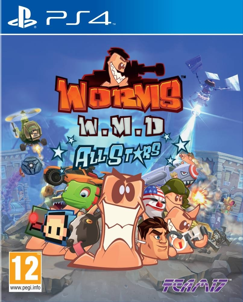 Worms W.M.D All Stars PL (PS4)