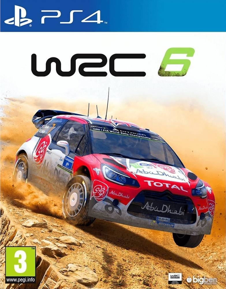 WRC 6 FIA World Rally Championship PS4