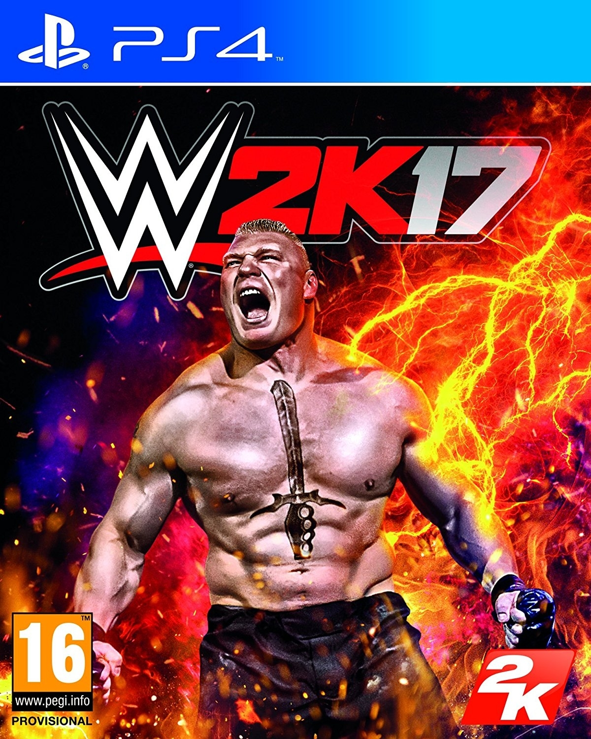 WWE 2K17 + DLC (PS4)