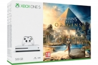 Konsola Xbox One S 500 GB Biała + Assassin's Creed Origins PL
