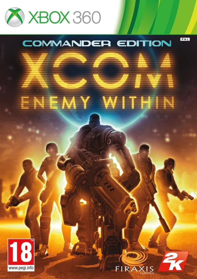 XCOM Enemy Within Commander Edition PL (Xbox 360)